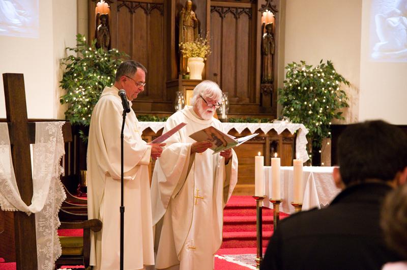 Fr Nagle Deacon Karl